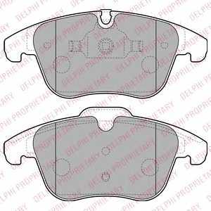 Колодки тормозные дисковые DELPHI LP2165 - изображение
