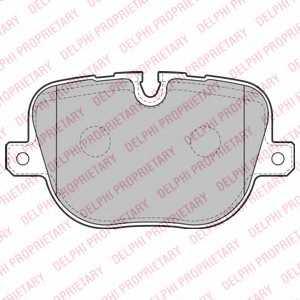 Колодки тормозные дисковые DELPHI LP2175 - изображение