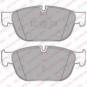 Колодки тормозные дисковые DELPHI LP2198 - изображение