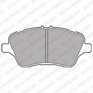 Колодки тормозные дисковые DELPHI LP2474 - изображение