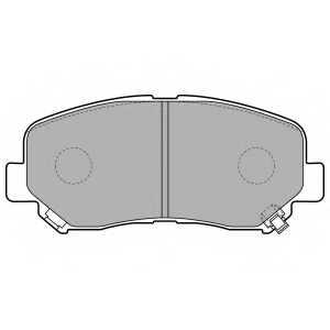 Колодки тормозные дисковые DELPHI LP2481 - изображение
