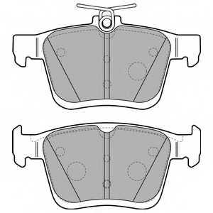 Колодки тормозные дисковые DELPHI LP2490 - изображение