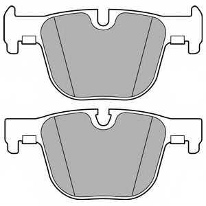 Колодки тормозные дисковые DELPHI LP2494 - изображение