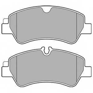 Колодки тормозные дисковые DELPHI LP2662 - изображение