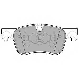 Колодки тормозные дисковые для CITROEN C4 <b>DELPHI LP2689</b> - изображение