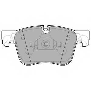 Колодки тормозные дисковые DELPHI LP2690 - изображение