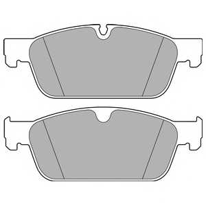 Колодки тормозные дисковые DELPHI LP2705 - изображение