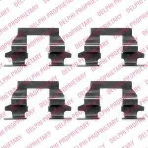 Комплектующие колодок дискового тормоза DELPHI LX0446 - изображение