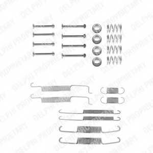 Комплектующие тормозной колодки DELPHI LY1026 - изображение