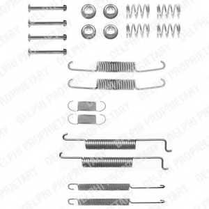 Комплектующие тормозной колодки DELPHI LY1033 - изображение