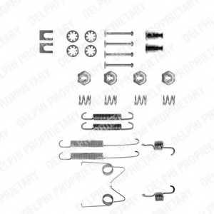 Комплектующие тормозной колодки DELPHI LY1038 - изображение