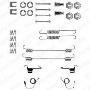 Комплектующие тормозной колодки DELPHI LY1040 - изображение