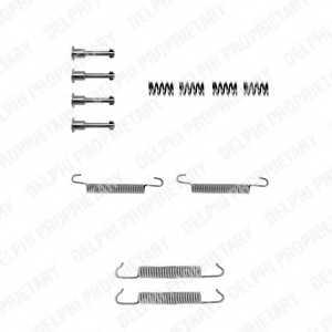 Комплектующие стояночной тормозной системы DELPHI LY1042 - изображение