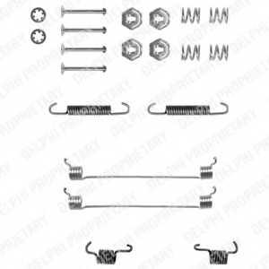 Комплектующие тормозной колодки DELPHI LY1055 - изображение