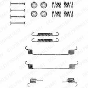 Комплектующие тормозной колодки DELPHI LY1061 - изображение