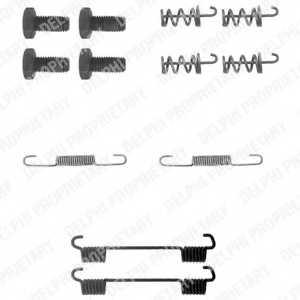 Комплектующие стояночной тормозной системы DELPHI LY1104 - изображение