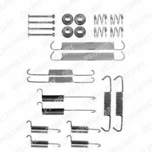 Комплектующие тормозной колодки DELPHI LY1136 - изображение