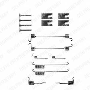 Комплектующие тормозной колодки DELPHI LY1139 - изображение