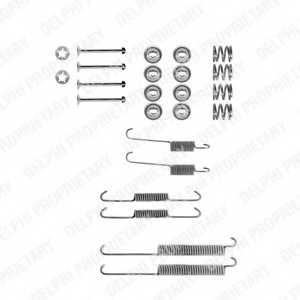 Комплектующие тормозной колодки DELPHI LY1180 - изображение