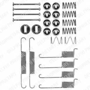 Комплектующие тормозной колодки DELPHI LY1197 - изображение