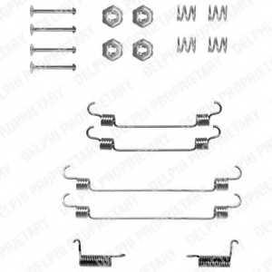Комплектующие тормозной колодки DELPHI LY1212 - изображение