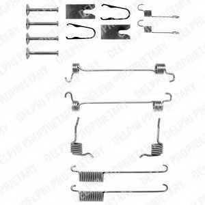 Комплектующие тормозной колодки DELPHI LY1226 - изображение
