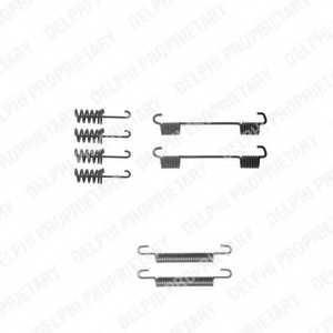 Комплектующие стояночной тормозной системы DELPHI LY1259 - изображение