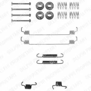 Комплектующие тормозной колодки DELPHI LY1261 - изображение