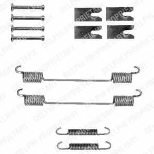 Комплектующие тормозной колодки DELPHI LY1327 - изображение