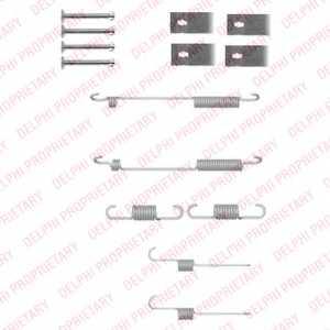 Комплектующие тормозной колодки DELPHI LY1332 - изображение