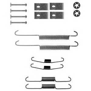 Комплектующие тормозной колодки DELPHI LY1337 - изображение