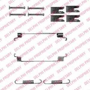 Комплектующие тормозной колодки DELPHI LY1342 - изображение