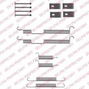 Комплектующие тормозной колодки DELPHI LY1355 - изображение