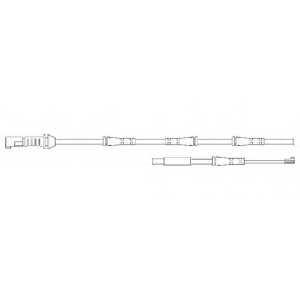 Контрольный контакт износа тормозных колодок DELPHI LZ0237 - изображение