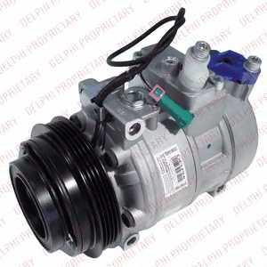 Компрессор кондиционера для AUDI A4, A6, ALLROAD / SKODA SUPERB / VW PASSAT <b>DELPHI TSP0159333</b> - изображение