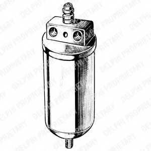 Осушитель кондиционера DELPHI TSP0175083 - изображение