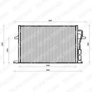 Конденсатор кондиционера DELPHI TSP0225112 - изображение