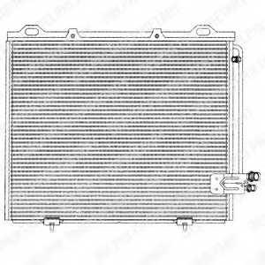 Конденсатор кондиционера DELPHI TSP0225194 - изображение