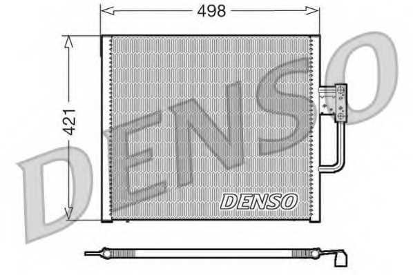Конденсатор кондиционера DENSO DCN05015 - изображение