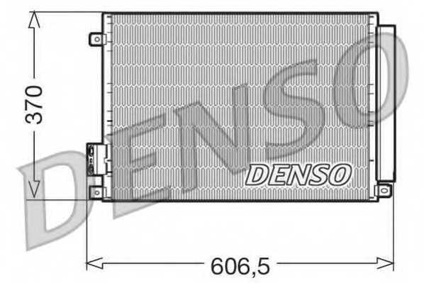Конденсатор кондиционера DENSO DCN09045 - изображение