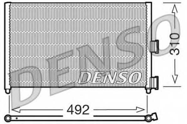 Конденсатор кондиционера DENSO DCN09071 - изображение