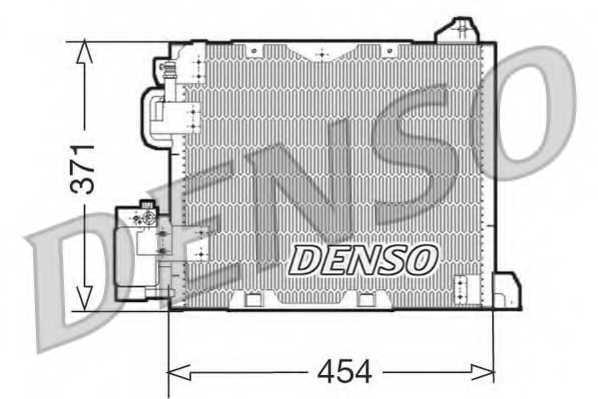 Конденсатор кондиционера DENSO DCN20006 - изображение