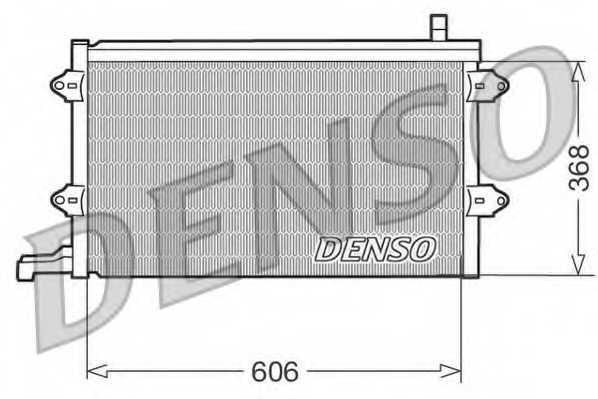Конденсатор кондиционера DENSO DCN32003 - изображение