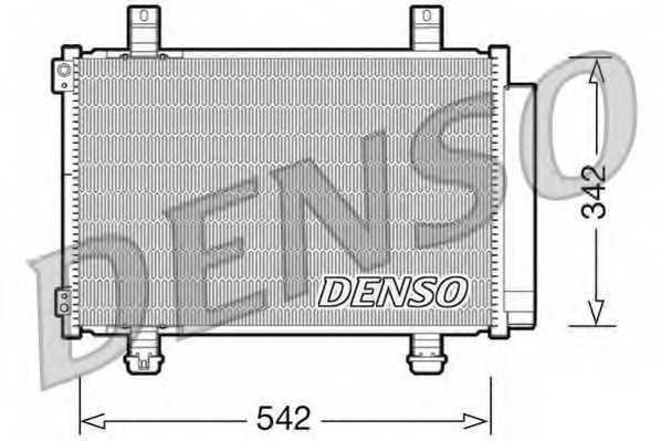 Конденсатор кондиционера DENSO DCN47005 - изображение