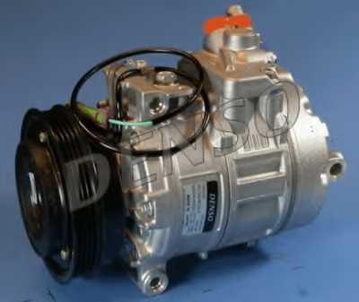Компрессор кондиционера для AUDI A4(B5,8D2,8D5), A6(C5,4B2,4B5) / SKODA SUPERB(3U4) / VW PASSAT(3B2,3B3,3B5,3B6) <b>DENSO DCP02006</b> - изображение