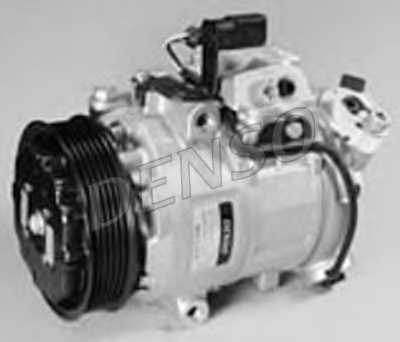 Компрессор кондиционера для SKODA FABIA(6Y2,6Y3,6Y5) / VW POLO(9N#) <b>DENSO DCP27002</b> - изображение