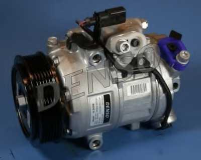 Компрессор кондиционера для SKODA FABIA(6Y2,6Y3,6Y5), ROOMSTER(5J) / VW FOX(5Z3,5Z1), POLO(6C,6R,9N#) <b>DENSO DCP32005</b> - изображение
