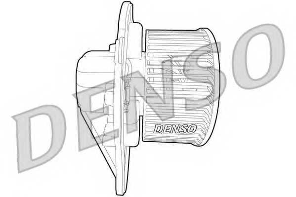 Вентилятор салона DENSO DEA02001 - изображение 1