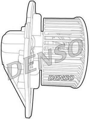 Вентилятор салона DENSO DEA02001 - изображение