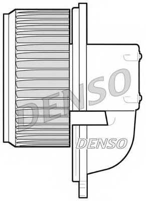 Вентилятор салона DENSO DEA09022 - изображение 1